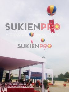 Cho thuê khinh khí cầu tổ chức sự kiện tại Hà Nội