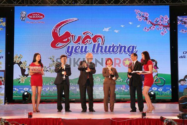 Tiệc cuối năm 2014 Acecook tại KCN Tiên Sơn – Bắc Ninh