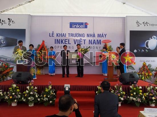 tổ chức sự kiện tại KCN quang minh