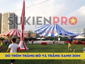 Lắp đặt dù tròn chuyên nghiệp tại Hà Nội